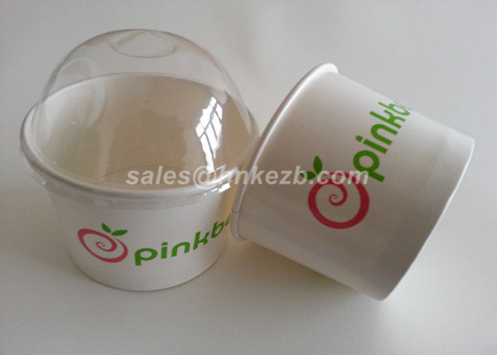 Small Paper Ice Cream Pint Containers / Custom Ice Cream Bowls 4oz 115ml